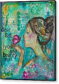 Beautyfull Acrylic Print