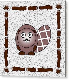 Beaver - Animals - Art For Kids Acrylic Print