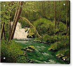 Beaver Creek Falls Acrylic Print
