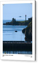 Beaver Harbour Nb Canada Acrylic Print