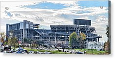 Beaver Stadium Game Day Acrylic Print
