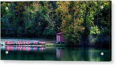 Beavers Bend Reflection Acrylic Print