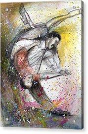 Bebop Dancing2 Acrylic Print