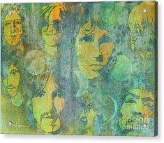 Because Acrylic Print by Robert Hooper
