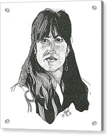 Becky Acrylic Print by Clayton Cannaday