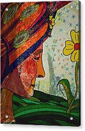 Becoming The Garden - Garden Appreciation Acrylic Print