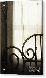 Bed By The Window Acrylic Print by Margie Hurwich