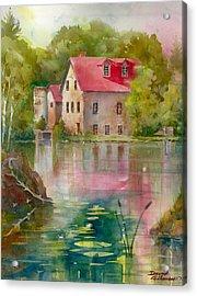 Bedford Mill Acrylic Print