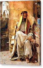 Bedouin Man Acrylic Print by Munir Alawi