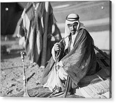 Bedouins In Jordan Acrylic Print by Underwood Archives