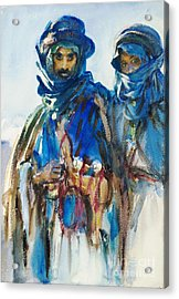 Bedouins Acrylic Print by Roberto Prusso
