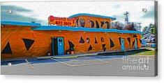 Bedrock City - Gift Shop Acrylic Print by Gregory Dyer