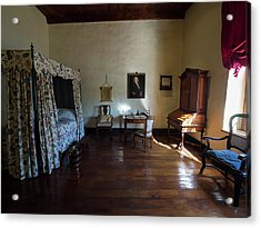 Bedroom Of Blettermanhuis, Stellenbosch Acrylic Print by Panoramic Images