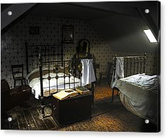 Bedroom Acrylic Print by Svetlana Sewell