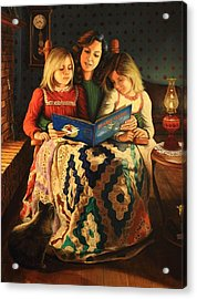 Bedtime Stories Acrylic Print by Glenn Beasley