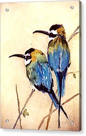 Bee Catchers Acrylic Print