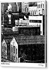 Beebe Power Station Acrylic Print