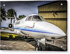 Beechcraft 900xp Acrylic Print by Chris Smith