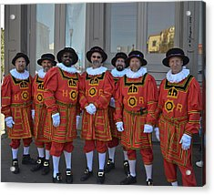 Beefeaters Acrylic Print