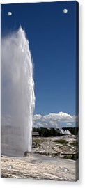 Beehive Geyser - Yellowstone National Park Acrylic Print by Brian Harig