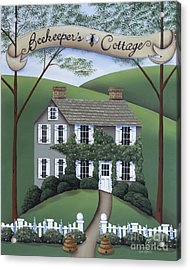 Beekeeper's Cottage Acrylic Print by Catherine Holman