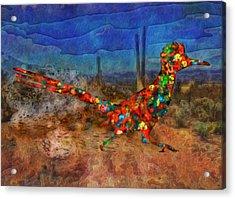 Beep Beep Acrylic Print by Jack Zulli