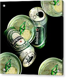 Beer Here Acrylic Print by Diana Angstadt