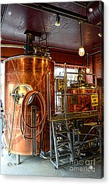 Beer - The Brew Kettle Acrylic Print by Paul Ward