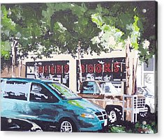 Beer's Books On L Street Acrylic Print by Paul Guyer