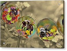 Bees Acrylic Print
