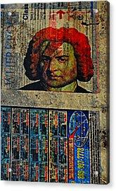 Beethoven02 Acrylic Print