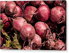 Beets - Earthy Wonders Acrylic Print