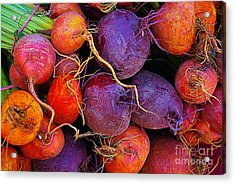 Acrylic Print featuring the photograph Beets Me  by John S