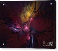 Before Dawn-fractal Art Acrylic Print
