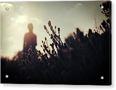 Before Love II Acrylic Print by Taylan Apukovska
