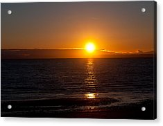 Acrylic Print featuring the photograph Before Night Falls  by Sabine Edrissi