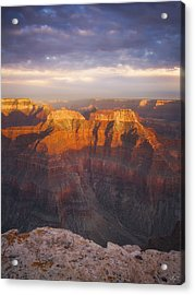 Before Sublime Colors Acrylic Print by Peter Coskun