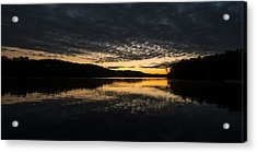 Before Sunrise At The Lake Acrylic Print