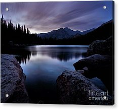 Before Sunrise Acrylic Print by Steven Reed