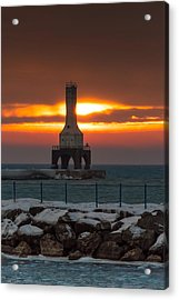 Before The Blizzard Acrylic Print