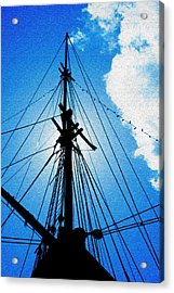 Before The Mast Acrylic Print