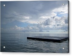 Acrylic Print featuring the photograph Before The Rain by Jon Emery