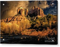 Before The Rains Came Acrylic Print
