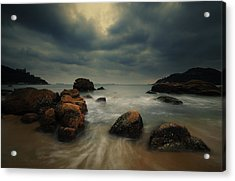 Acrylic Print featuring the photograph Before The Storm by Afrison Ma