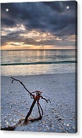 Before The Storm Acrylic Print by Steven Ainsworth