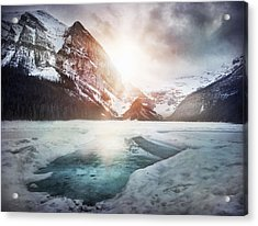 Beginning To Thaw Acrylic Print