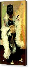 Behave Acrylic Print by CrysWheel