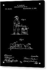 Beheading Ax Patent Acrylic Print