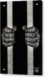 Behind Bars Acrylic Print by Svetlana Sewell