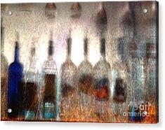Behind The Bar Acrylic Print